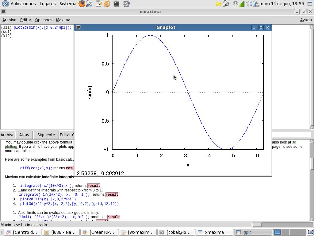 Software matemático – Wxmaxima