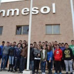 Los alumnos visitan Inmesol, S.L.