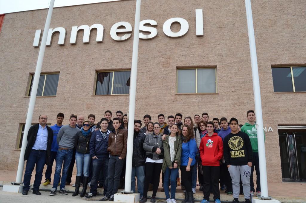 Visita Inmesol, S.L. - Alumnos Colegio San José