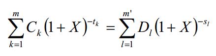 calculo tasa anual equivalente