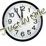 Just in time – #video