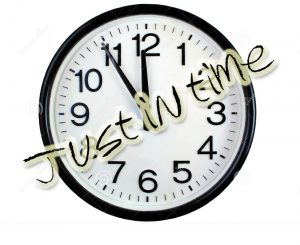 Just in time - #video