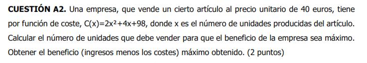 2019 EBAU Murcia  Ord. A2